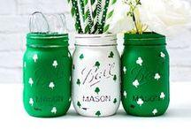 Mason Jar Holidays: St. Patrick's Day / Mason Jar Craft, Recipe, Decor Ideas for St. Patrick's Day  / by Mason Jar Crafts {love!}