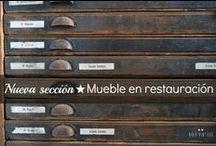 MUEBLE EN RESTAURACIÓN