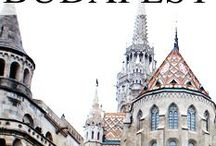 Budapest / Bisected by the River Danube, Budapest is one seriously stunning city to visit.