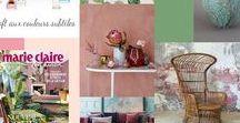 Décoration, ateliers planches d'Ambiance / Permet de trouver de l'inspiration pour un projet de décoration d'intérieur, renseigne sur les couleurs, les matériaux, les accessoires, le mobilier et sur la pièce à décorer