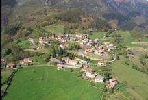 Cofiño, el pueblo / Pueblo de 50 habitantes en la ladera del Sueve, Reserva Natural.