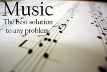 I like to think about... MuSiC / Beautiful thoughts about music.