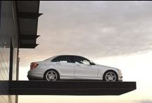 Mercedes C-class Limousine White / Our own Mercedes C-class Limousine/Sedan White of 2009