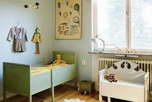 vintage toddlers & kids rooms / inspirerende kinderkamers met vintage meubels en accessoires