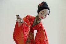Wilma Simmons / Art Dolls