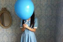 balloons teens girls - asian / balloon girls