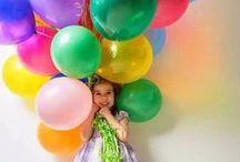 SET / balloons girls / balloon girl 2