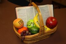 """Fruit of the Spirit / Ideas for a """"Fruit of the Spirit"""" themed room. Please add new friends, pins, and ideas."""