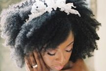 Hair Accessories | / From turbans and headwraps, to jewels and flowers! Inspiration to accessorise your kinks and curls