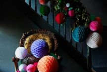 Colourful Christmas / Colour combinations to excite and inspire.