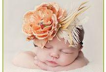 Boneca Adornada / Os enfeites mais lindos para o cabelo da bebê