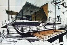 S K E T C H / Architecture drawing