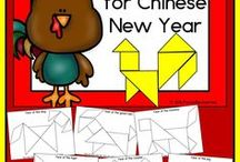 Chinese New Year / Learning about and celebrating Chinese New Year or Lunar New Year