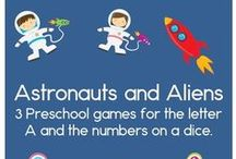 Letter A / Activities for learning the letter and sound of Aa