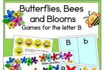 Letter B / Activities for learning the letter and sound of Bb