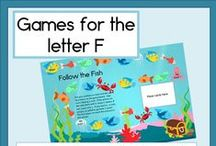 Letter F / Activities for learning the letter and sound of Ff