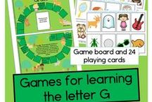Letter G / Activities for learning the letter and sound of Gg