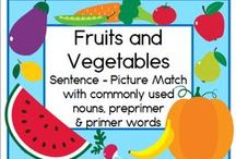 Letter V / Activities for learning the letter and sound of Vv