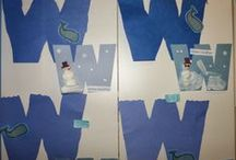 Letter W / Activities for learning the letter and sound of Ww