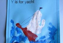 Letter Y / Activities for learning the letter and sound of Yy