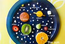 Space theme / Learning about the solar system and beyond