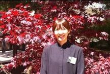 Hosts / Some of the faces behind the names welcoming you to Shizuka Ryokan