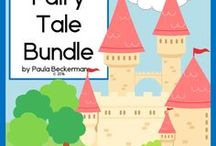 Fairy tales, folk tales, fables, castles and magical creatures / Once upon a time...