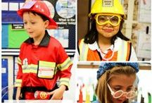 Community helpers / Learning about careers and jobs, especially the people who help our communities to run smoothly.