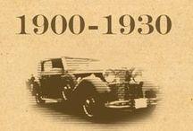Mercedes Benz 1900 - 1930