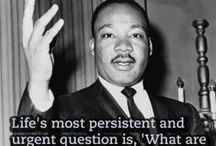 MLK Jr and Black History Month / Learning about famous African Americans