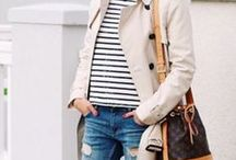 Preppy, classy and casual style / I'd like to wear...