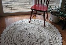 Rugs and baskets