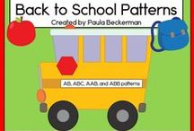 Back to school ideas / Activities, ideas and supplies to help get ready for the beginning of a new school year.
