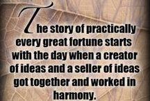 Napoleon Hill wisdom / Words of wisdom from author Napoleon Hill