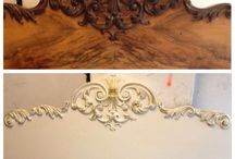 Before and after. My handwork. / My handmades.