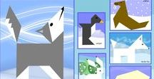 Polar regions / Arctic and Antarctic, and all the amazing animals that live there.
