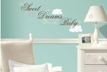 Baby Nursery Wall Decals / All of our favorite nursery themed decals from wallstickeroutlet.com