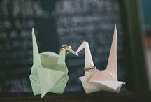 weddings / origami