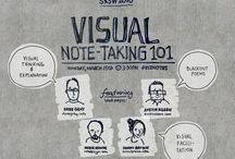 VISUAL NOTES / Visual note taking, white board marketing and doodling. / by Rhino Arts