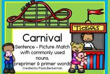 Carnivals, fairs and the circus / From putting on a school carnival, to learning about the circus and fairs.