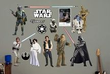Star Wars !! / Bring your walls to life with the force of these awesome wall decals and murals from the wallstickeroutlet.com