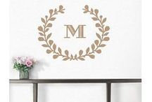 Martha Stewart Home Wall Decor / Wall decals from the infamous Martha Stewart collection available to you at wallstickeroutlet.com