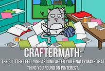 Craft Humor & Quotes / This is a fun board to share some of our #FeelGoodFriday quotes and images!