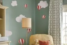 Fabric Wall Decals / Check out these beautiful fabric wall decals from wallstickeroutlet.com