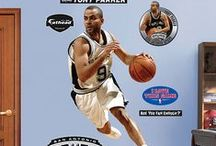 NBA Basket Ball Wall Stickers / Each and every one of your favorite NBA stars are available to come home with you today from wallstickeroutlet.com