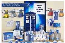 Doctor Who party ideas / Idea for Doctor Who party