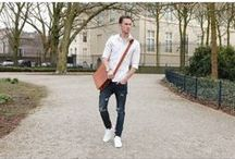 Leather bags for men / I sell handmade leather bags on my website http://4join.com . Please give a look. Free shipping worldwide.