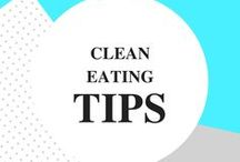 Clean Eating Tips / Clean eating recipes, tips and hacks for beginners, those on a budget, those who hate to cook and love to cook too! Simple, easy and delish. Plus, tips to help you eat clean, lose weight and burn fat.
