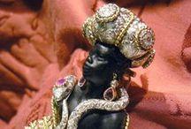 Our Venetian blackamoors pins brooches / Blackamoor brooches