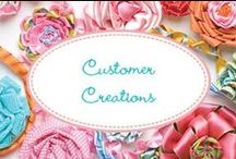 Customer Creations / Kari Me Away patterns made by talented ladies!